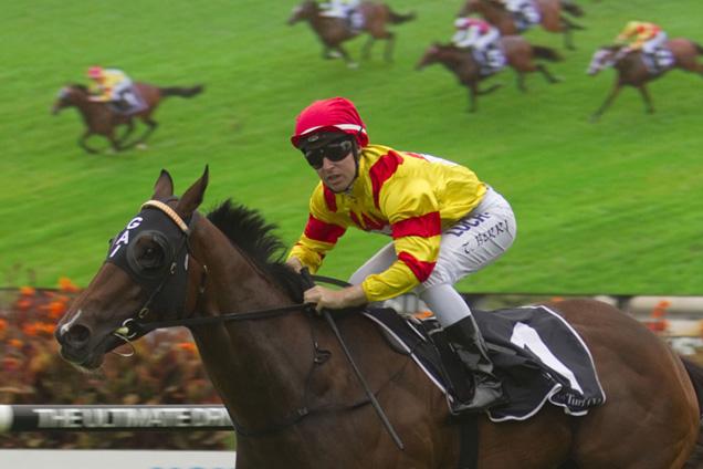 Fighting Sun winning the Canonbury Stakes