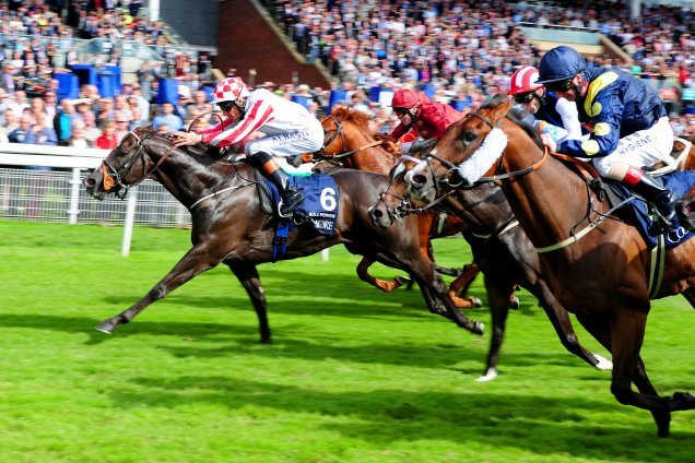 Sole Power winning the Coolmore Nunthorpe Stakes (British Champions Series) (Group 1)