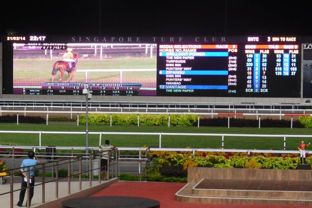 Free Singapore Form, Speed Maps & Ratings For Sunday