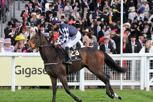 Savannah's Dream running in the Windsor Castle Stakes (Listed)