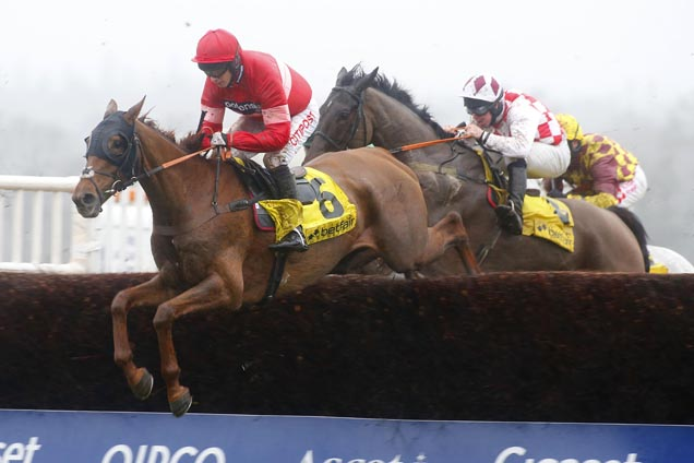 Silviniaco Conti winning the Betfair Ascot Chase (Grade 1)