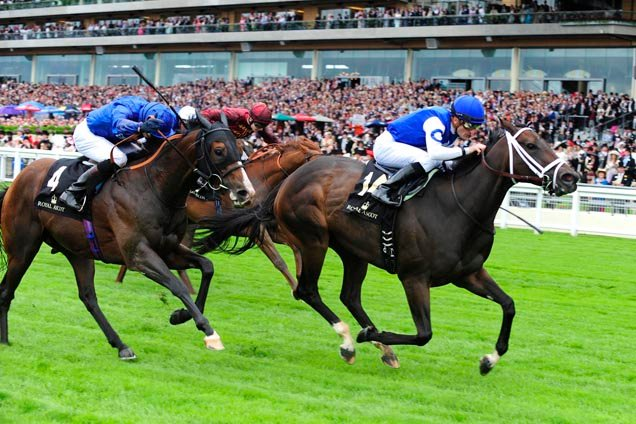 Tepin wins the Queen Anne Stakes