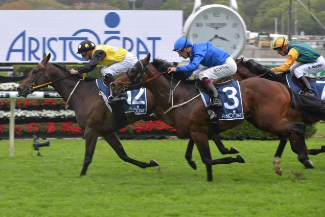 In Her Time holds out Impending to win Sydney Stakes