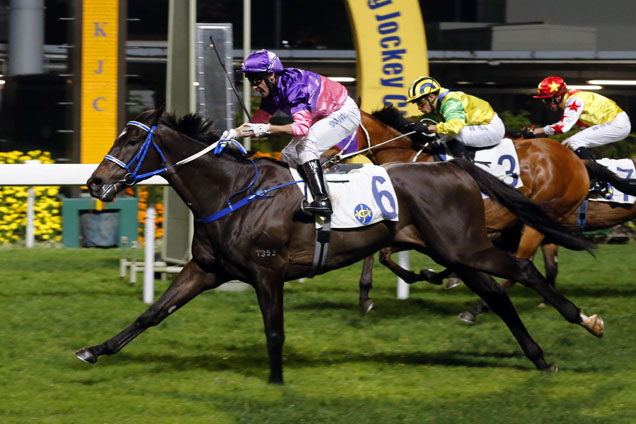 Nitro Express is a top rater at Happy Valley on Wednesday.