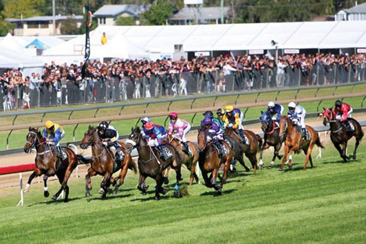 Ipswich racecourse is located at Bundamba, 30km west of Brisbane.