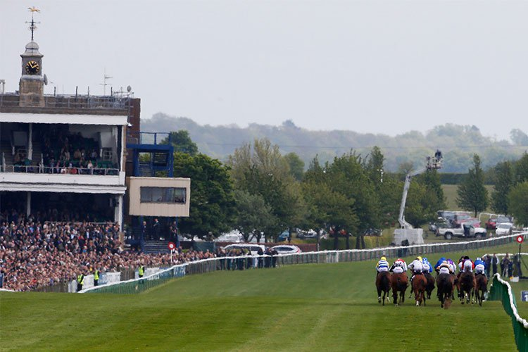 Situated in Suffolk in England, Newmarket is the home of British horse racing.