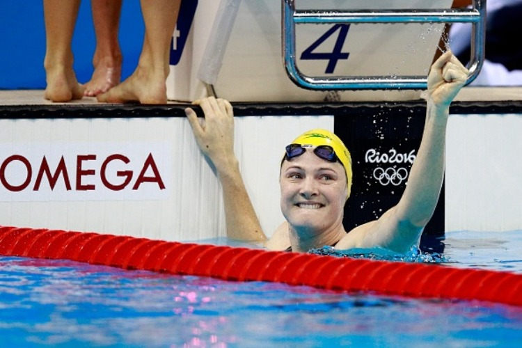 CATE CAMPBELL of Australia.