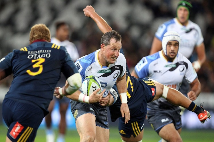 Western Force on the charge.