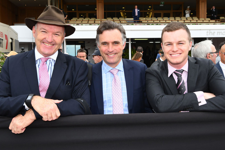 Trainers : David Hayes, Ben Hayes and Tom Dabernig.