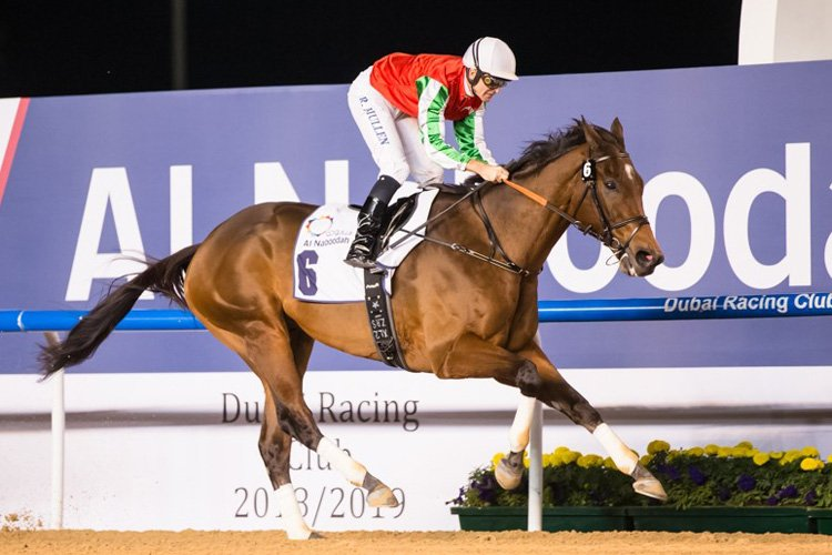 North America winning the Al Maktoum Challenge R2 Sponsored By Al Naboodah Allied Products Division