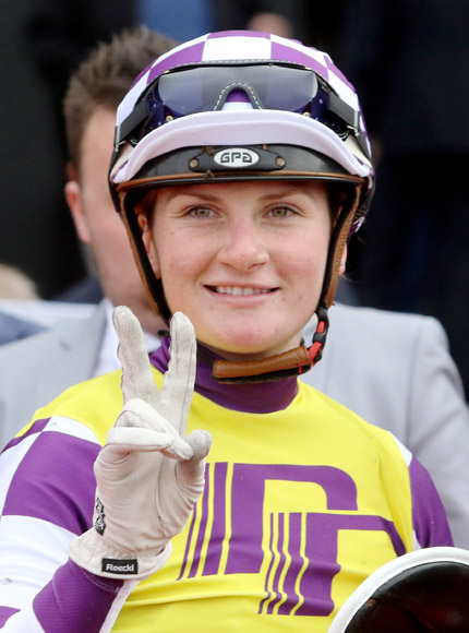 Jockey: JAMIE KAH is as talented as any rider in Melbourne.