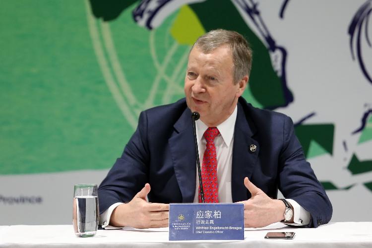 Club CEO Winfried Engelbrecht-Bresges