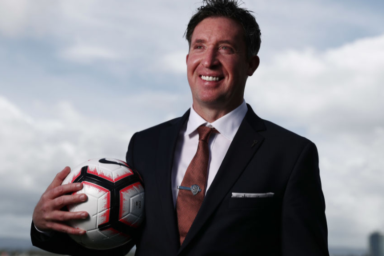 Brisbane Roar new head coach ROBBIE FOWLER.