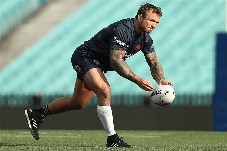 JAKE FRIEND of the Roosters.