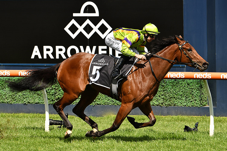RIVER NIGHT winning the Arrowfield Redoute's Choice