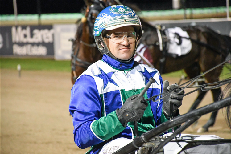 Luke McCarthy took out the first of the Group 1s at Menangle tonight.