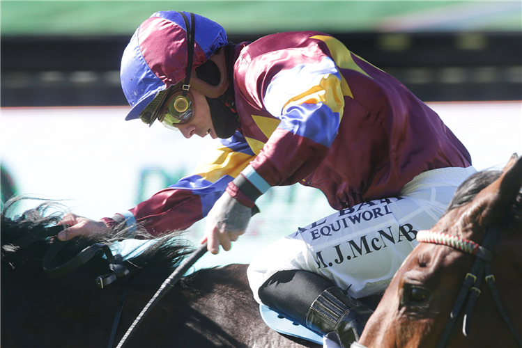 Michael McNab has picked up his first winner following an extended break from the racing scene
