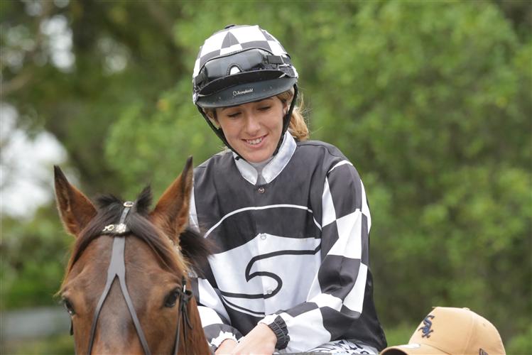 Apprentice jockey Hazel Schofer