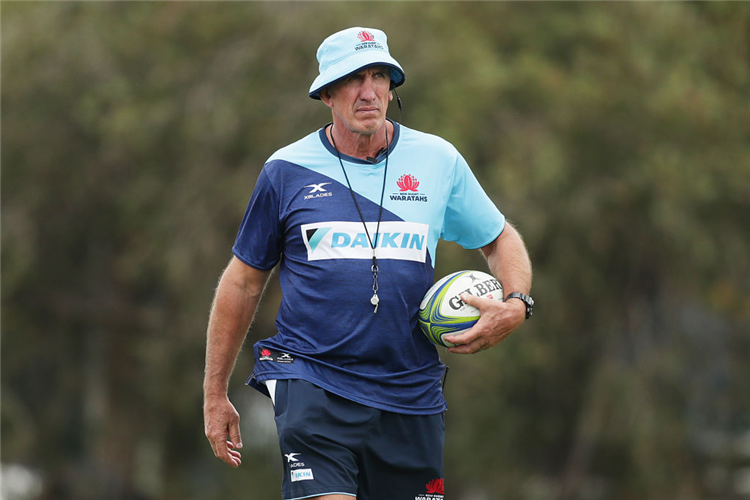 Waratahs head coach ROB PENNEY.