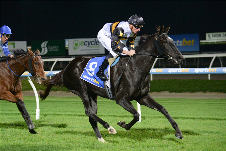 MIMI'S AWARD winning the Gippsland Premium Quarries Maiden Plate at Sportsbet Pakenham in Pakenham, Australia.