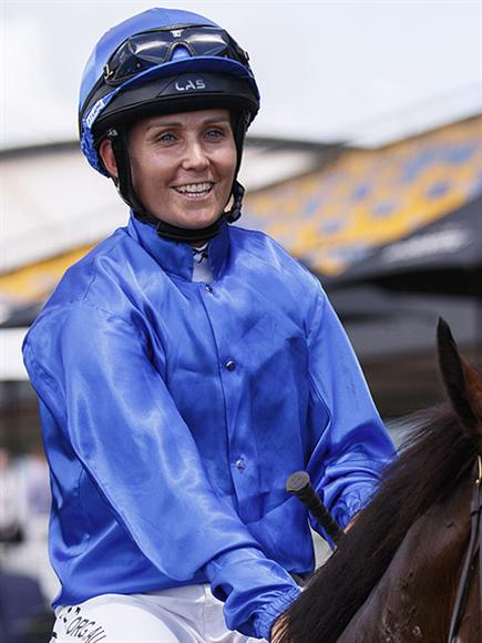 Jockey : MS RACHEL KING legs back aboard Trifaccia on Saturday