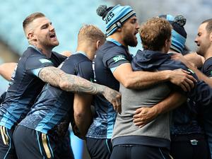 NSW Blues State of the Origin captain's run