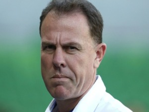 ALEN STAJCIC looks on prior to a Women's International match at AAMI Park in Melbourne, Australia.