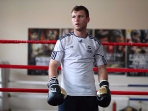 JEFF HORN during a training session in Brisbane, Australia.