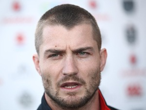 KIERAN FORAN speaks to the media during a New Zealand Warriors NRL media session at Mt Smart Stadium in Auckland, New Zealand.
