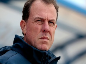ALEN STAJCIC Australia Head Coach during the Algarve Cup Tournament Match between Australia W and Netherlands W in Vila Real de Santo Antonio, Portugal.