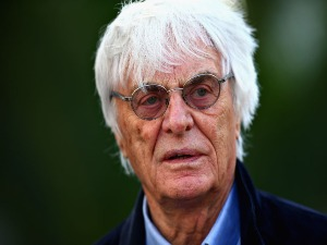 BERNIE ECCLESTONE, Chairman Emeritus of the Formula One Group walks in the Paddock during previews to the Formula One Grand Prix of Russia in Sochi, Russia.