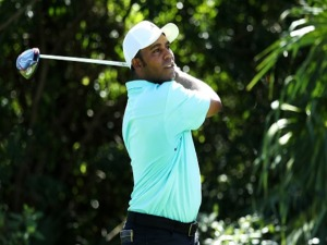 HAROLD VARNER III of the United States plays during the Mayakoba Golf Classic at El Camaleon Mayakoba Golf Course in Playa del Carmen, Mexico.
