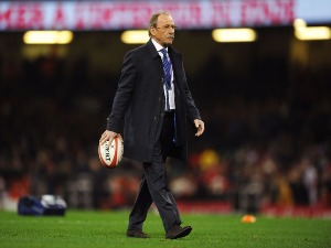 JACQUES BRUNEL head coach of France looks on prior to the NatWest Six Nations match between Wales and France at Principality Stadium in Cardiff, Wales.