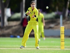 NICOLE BOLTON during the WNCL match between South Australia and Western Australia at Adelaide Oval in Adelaide, Australia.