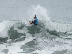 STEPHANIE GILMORE of Australia competes in the Rip Curl Pro Bells Beach at Bells Beach in Melbourne, Australia.