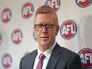 AFL General Manager Football Operations STEVE HOCKING was announced as the new AFL General Manager of Football Operations at AFL House in Melbourne, Australia.