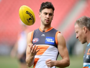 TIM TARANTO one of the Giants star youngsters