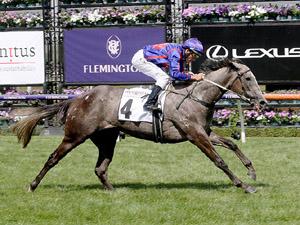 Anjana winning the Incognitus Stakes