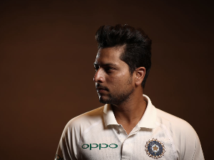 KULDEEP YADAV of India poses during the India Test squad headshots session at Adelaide Oval in Adelaide, Australia.