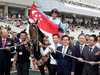 El Padrino (David Flores) gave trainer Alwin Tan (not in photo) a historic win in Seoul on August 31, 2014.
