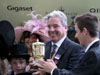 Wesley Ward at Royal Ascot