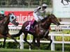 Alibi winning the STEWARDS' CUP