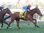 Bonneval winning the Dato' Tan Chin Nam Stakes