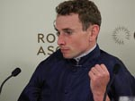 Ryan Moore at the Press Conference