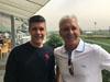 Patrick Shaw (right) and Ricardo Le Grange enjoy Meydan ahead of Quechua's Dubai Gold Cup mission.