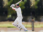 MATTHEW RENSHAW of Australia bats during the Australian Test cricket inter-squad match at Marrara Cricket Ground in Darwin, Australia.