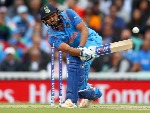 ROHIT SHARMA of India in action during the ICC Champions trophy cricket match at The Oval in London.