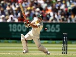 DAVID WARNER of Australia bats during the Fourth Test Match of the 2017/18 Ashes series at MCG in Australia.