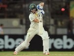 ELLYSE PERRY of Australia bats in the Women's Test match between Australia and England at North Sydney, Australia