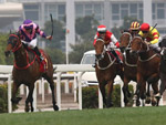 Dundonnell scores his first win in nearly three years in the Class 1 Chinese New Year Cup Handicap today.